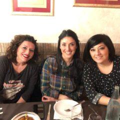 Nathalie, Azzurra e Rachele